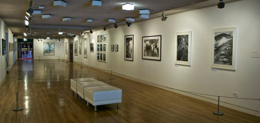 Black on White  Exhibition Theatre Clwyd Gallery Mold